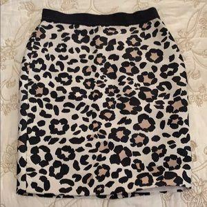 Adorable Ann Taylor leopard print skirt